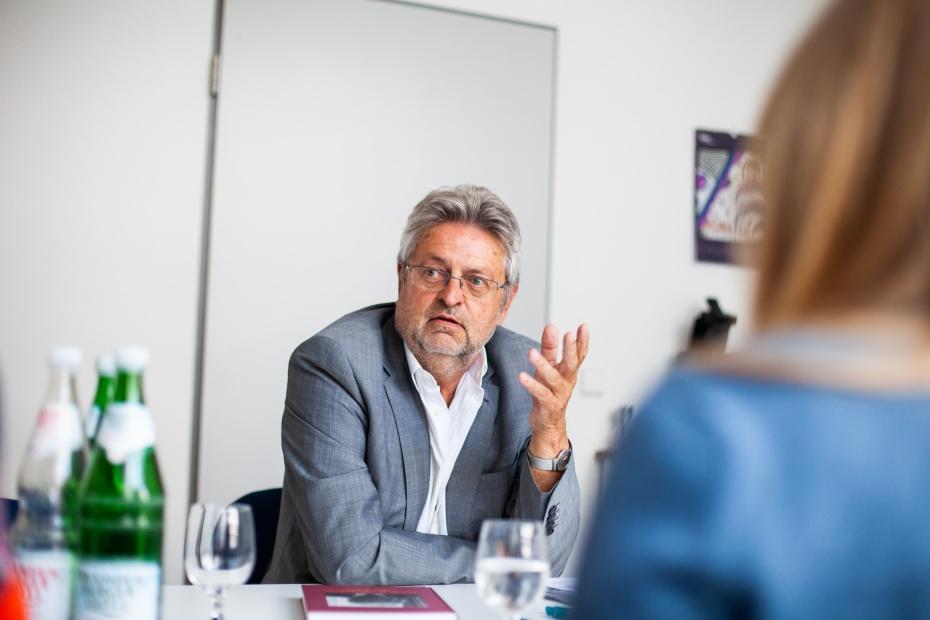 Manfred Isemeyer, Vorstand der Humanismus Stiftung Berlin