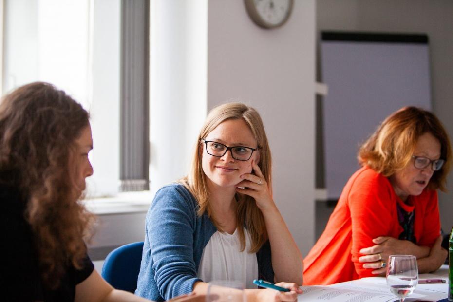 Anna Urzendowsky, Leiterin des Referats für Kultur, Mitglieder und Freiwillige im HVD Berlin-Brandenburg KdöR