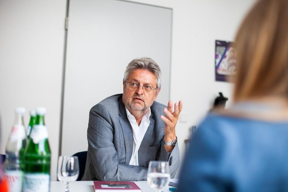 Manfred Isemeyer, Vorsitzender der Humanismus Stiftung Berlin