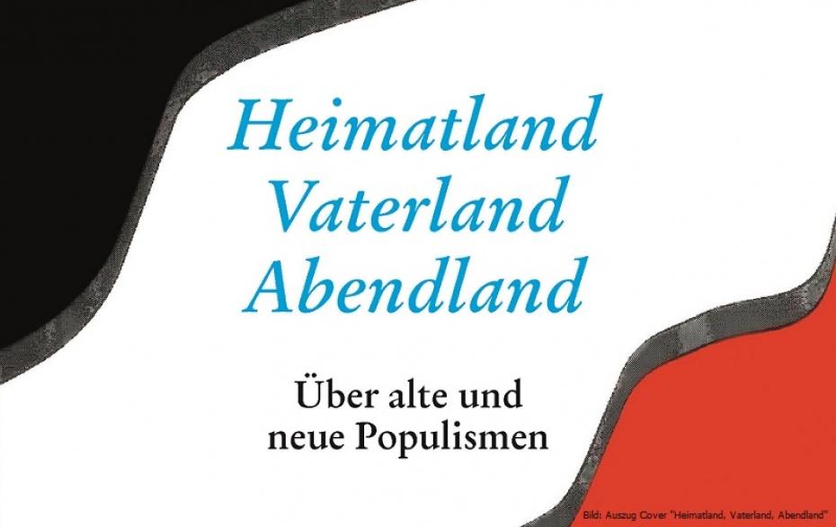 """Auzug Cover """"Heimatland, Vaterland, Abendland"""" Königshausen & Neumann (2018)"""