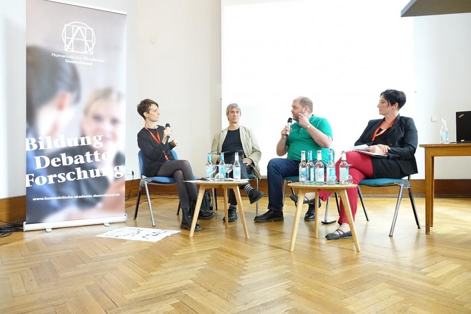 Tina Bär, Werner Schultz, Lutz Renken, Silvana Ulrich-Knoll (v.l.)