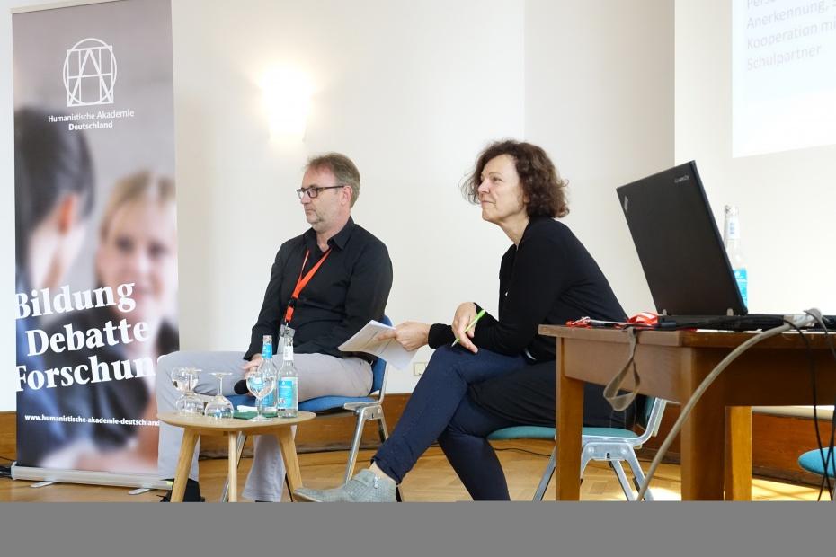 Ralf Schöppner und Christina Gruhne (v.l.)