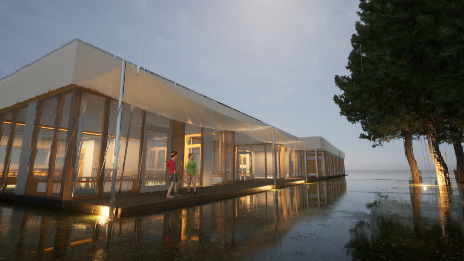 Neubau der humanistischen Kita Rappelkiste von Hinz Architekten