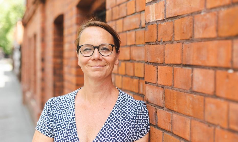 Britta Licht achtet darauf, dass Neubauten in ihrer räumlichen Gestaltung dem pädagogischen Konzept folgen.