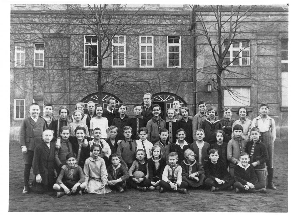 Eine Klasse der Lebensgemeinschaftsschule Rütli in Neukölln, 1926