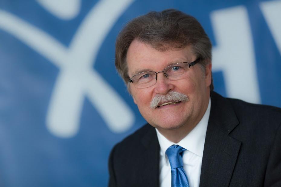 Dieter Grützner, humanistischer Sprecher für Köln und Umgebung