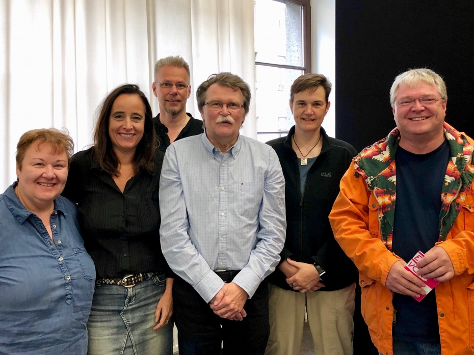 Neuer Vorstand Gemeinschaft Köln des HVD NRW am 29.9.2019 gewählt