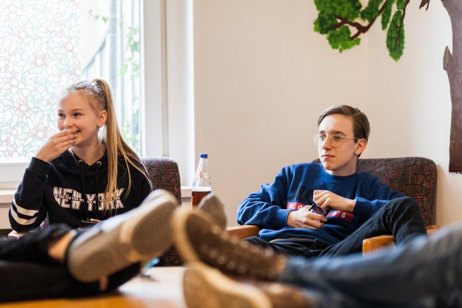 Wir bieten in unseren Jugendfreizeiteinrichtungen Freiraum zur Entfaltung der eigenen Persönlichkeit