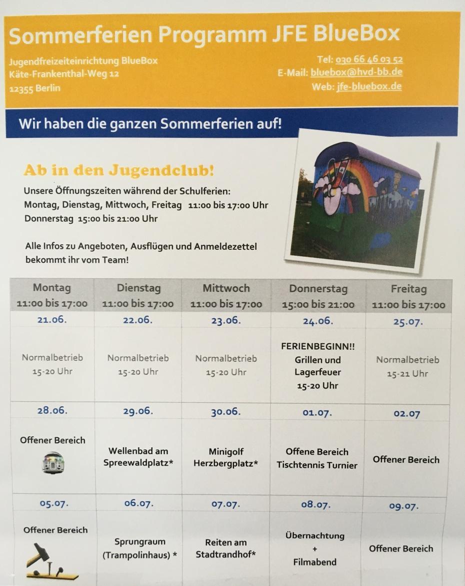 SommerferienProgramm I
