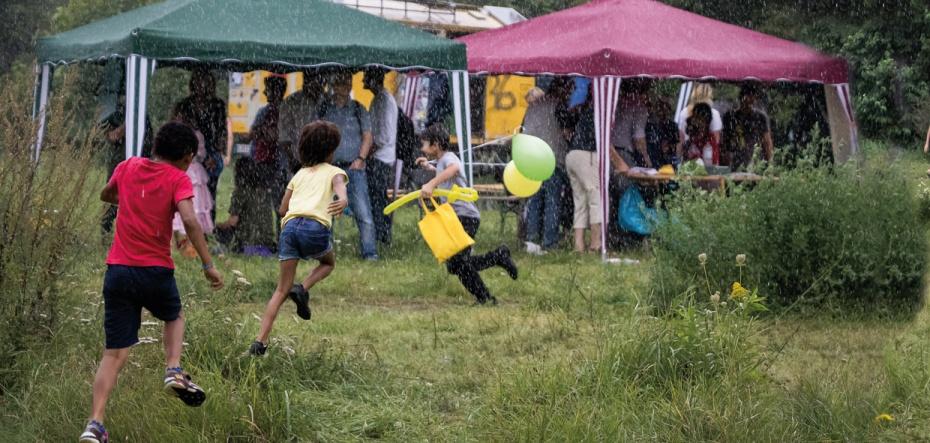 Impression Gartenfest 2017