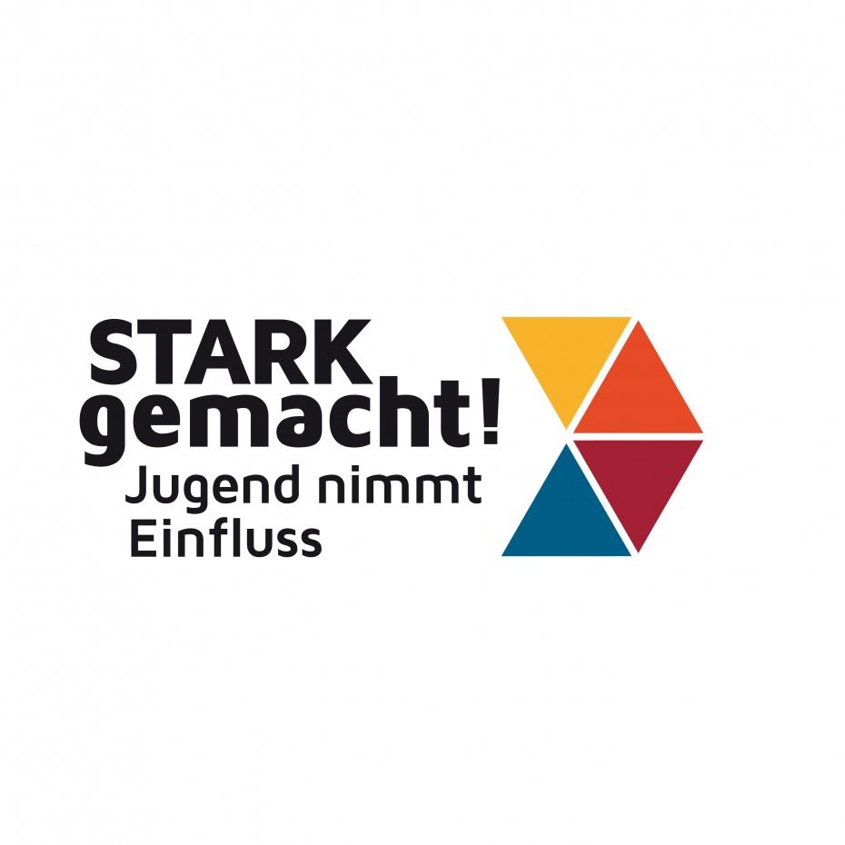 Logo Stark gemacht! der Jugend-und Familienstiftung des Landes Berlin