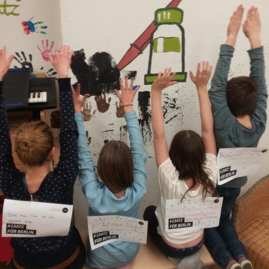 Die Kinder der KFE Rakäthe bestimmen mit.