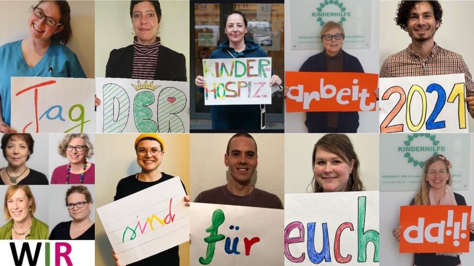 """Die """"Fachgruppe Kinder, Jugendliche und ihre Familien"""" beim Hospiz- und PalliativVerband Berlin e.V. möchte den Betroffenen zeigen: Wir sind für Euch da!"""