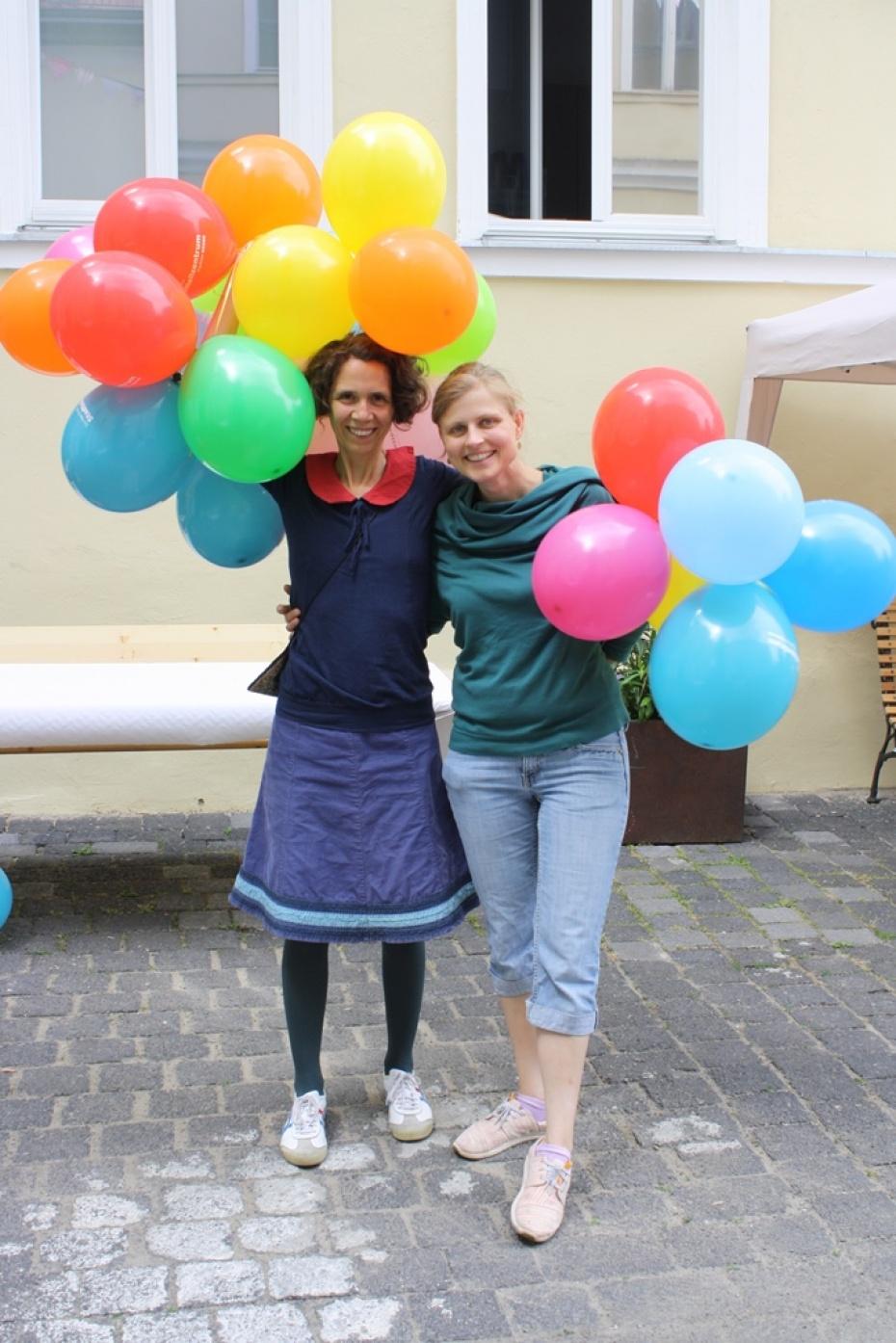 Koordinatorinnen der KPE, Julia Giese, Bernadette Herbrich