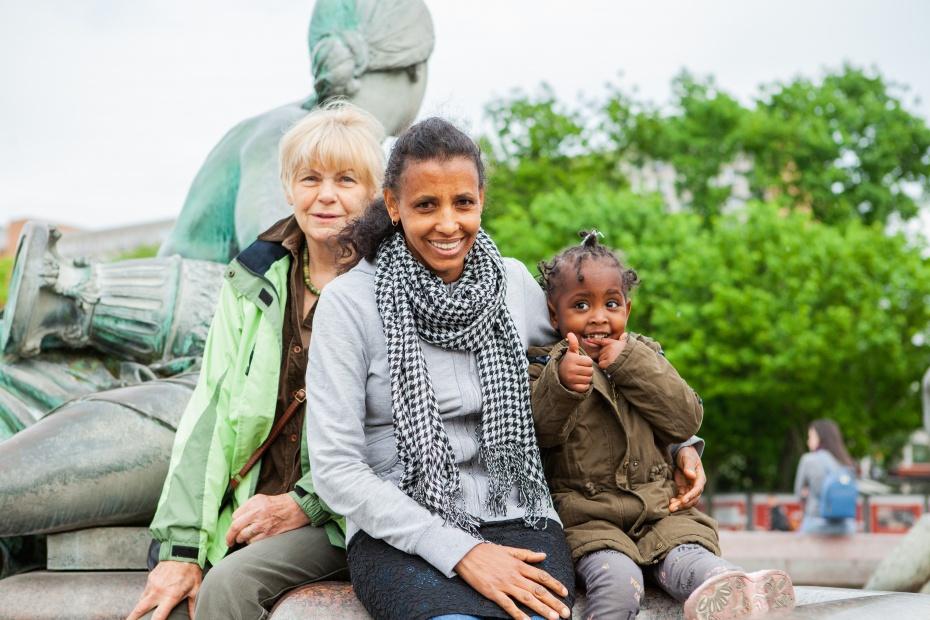 Wir unterstützen Begegnung und Austausch, fördern Vielfalt und Miteinander