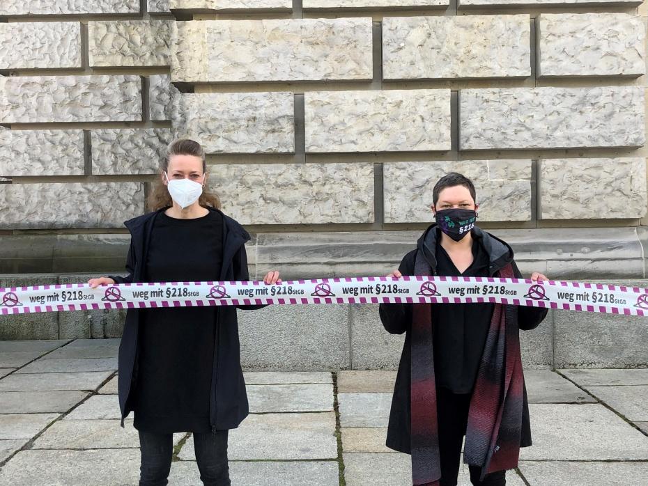 Aktionstag am 15.5.2021 vor dem Reichstagsgebäude in Berlin