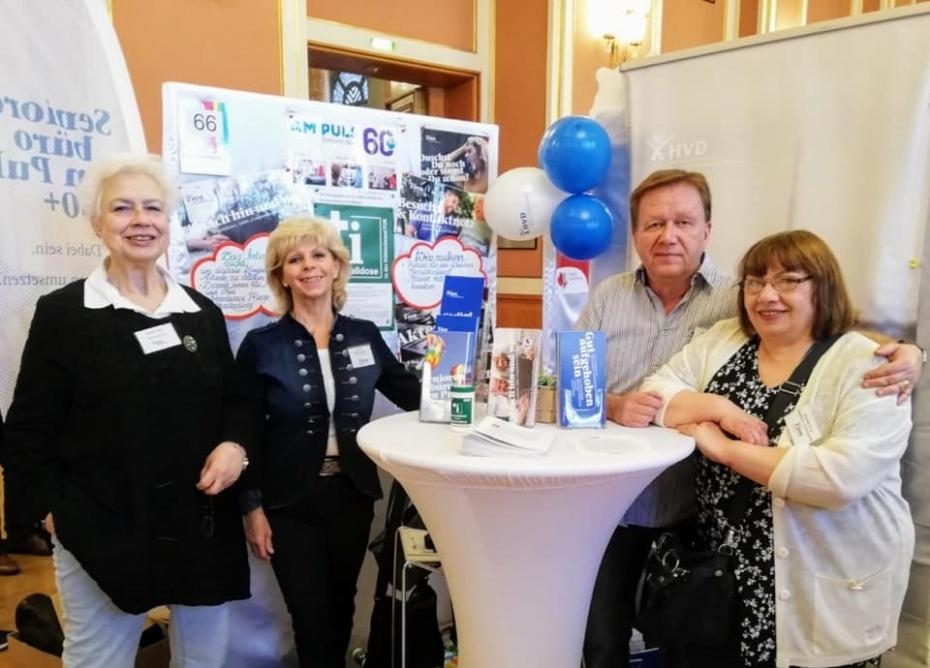 von links nach rechts: Katrin Ruh, Carmen Malling, Hendrik Nietz, Christa Engl
