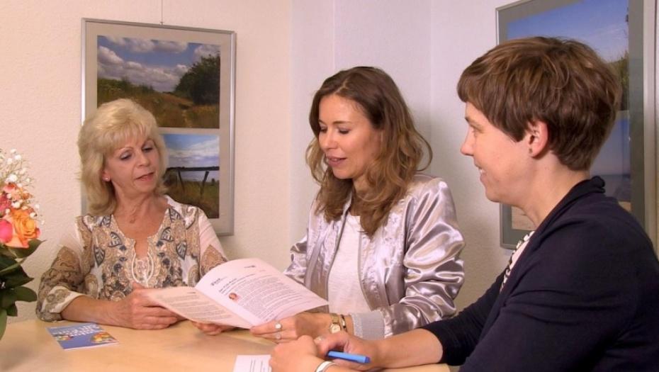 Carmen Malling, Stefanie Krentz, Simone Koschewa (vlnr)