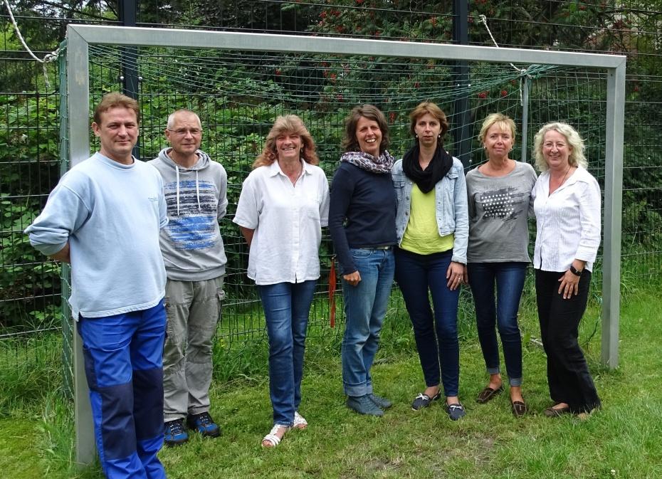 von rechts nach links: Herr Herm, Herr Ballerstedt, Frau Eichhorn, Frau Ambrosius, Frau Dittmann, Frau Fichtner, Frau Krause