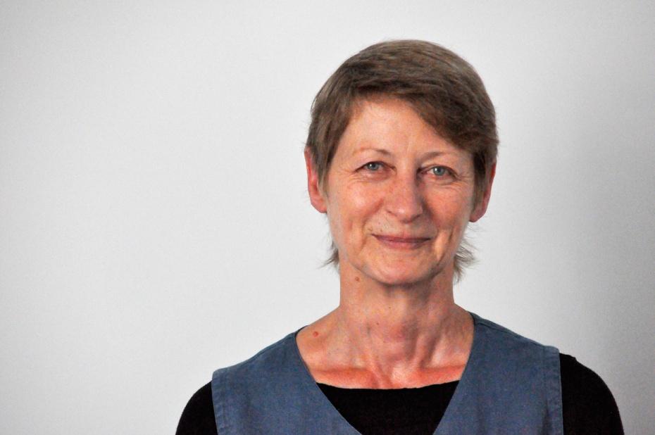 Dr. Gundula Engelhard, Geschäftsführerin der Mecklenburgischen Literaturgesellschaft