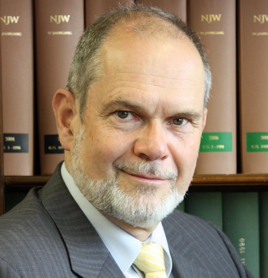 Rechtsanwalt Wolfgang Putz, Foto: privat