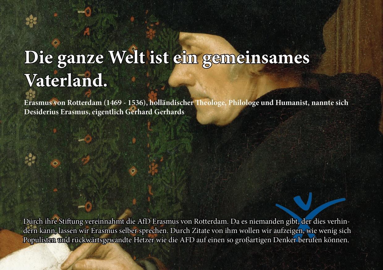 Erasmus Und Die Afd Humanistischer Verband Nordrhein Westfalen