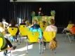 der Mehrzweckraum der Schule- große Bühne und viel Platz