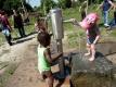 Eine Wasserpumpe gibt es auch in der Wilden Welt.