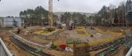 Baustelle im Dezember
