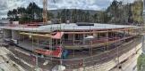 Baustelle Ende April