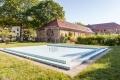 Highlight ist unser Pool im Garten