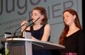 Zwei Teilnehmerinnen hielten eine Rede an die Erwachsenen …