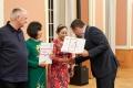 Ehrenamtliche Sterbebegleiter_innen Wolfgang Keune, Thi Van Nguyen und Thi Quyet Thang Nguyen