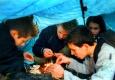 Jugendliche im Vorbereitungsprogramm zu JugendFEIER