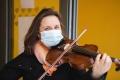 Frau Elli Döring spielte für uns zwei besonderen Musikstücke.