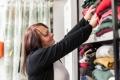Kleiderausgabe für Wohnungslose