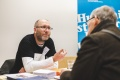 Jens Gehre vom Betreuungsverein Pankow beriet zum Thema Betreuung