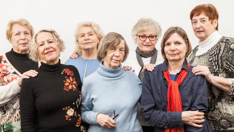 Das Team vom Berliner Seniorentelefon