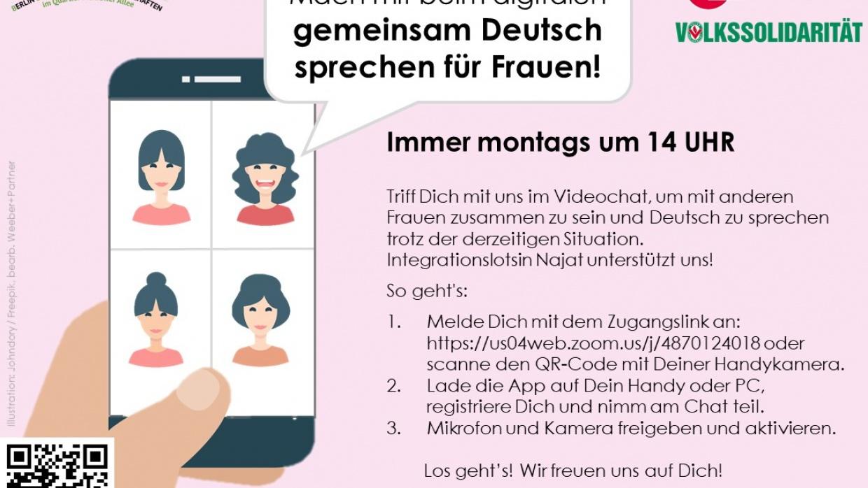 Gemeinsam Deutsch sprechen für Frauen