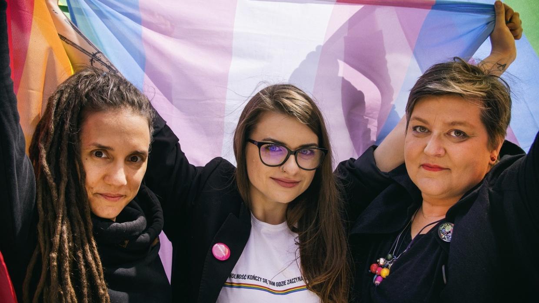 Joanna Gzyra-Iskandar, Anna Prus und Elżbieta Podleśna: Drei mutige Frauen, die sich in unserem Nachbarland Polen gegen Menschenrechtsverletzungen zur Wehr setzen.