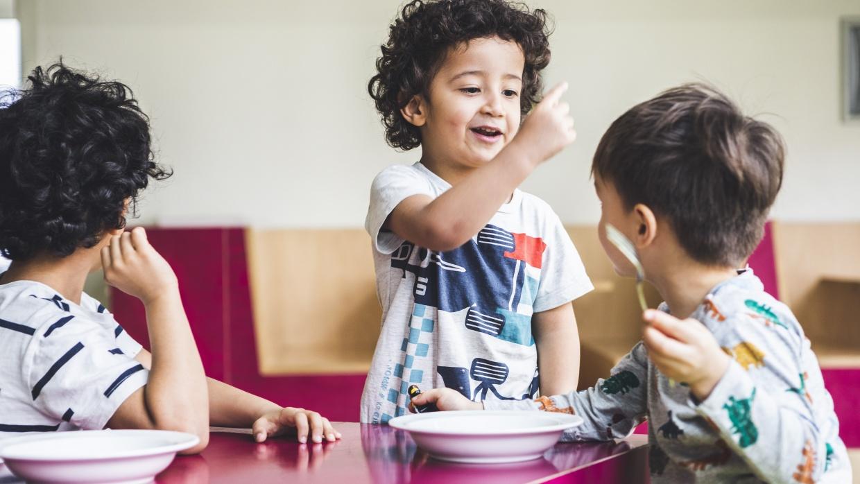 Unsere Räume sollen Kinder anregen, sich selbst und die Welt zu entdecken.