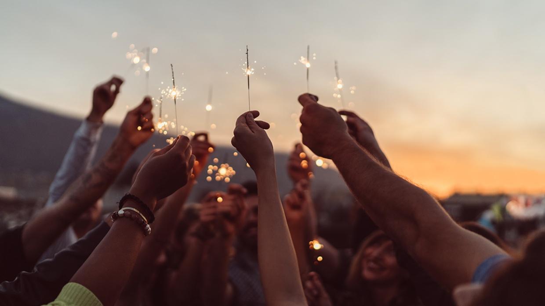 Humanistische Feierkultur begleitet Menschen durch ihr gesamtes Leben.