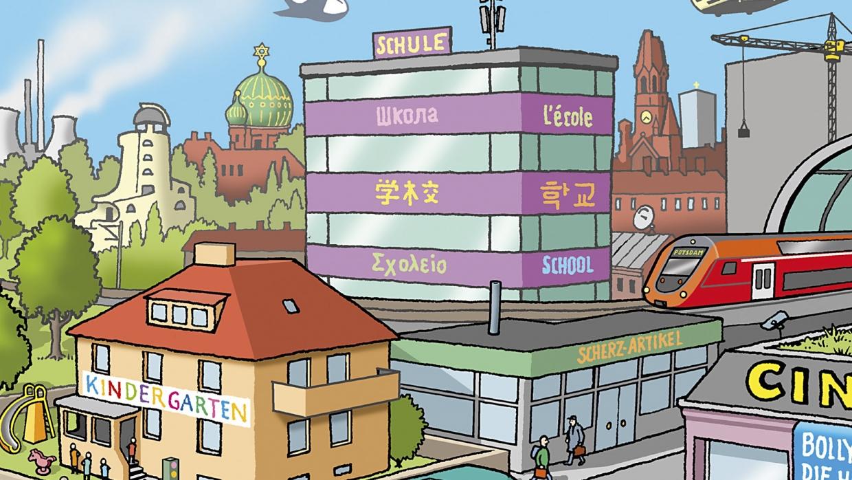 Mappe Ausschnitt 2 Schulen