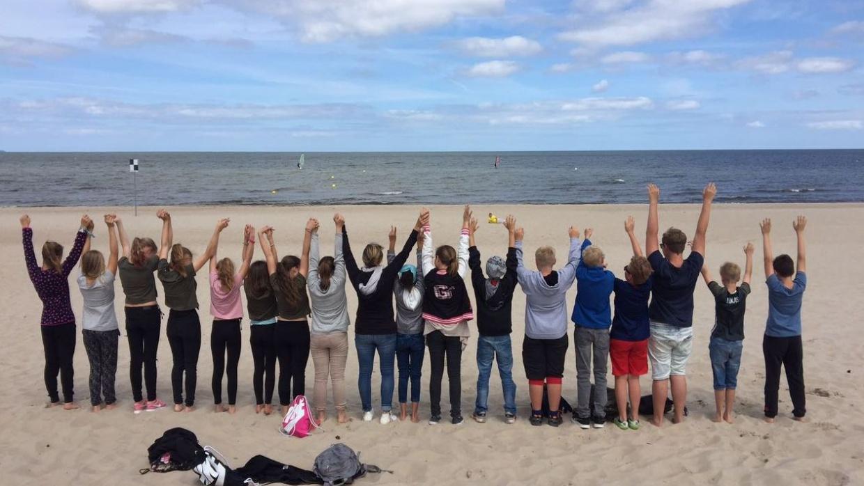 Ausflug mit Lebenskunde-Schülern