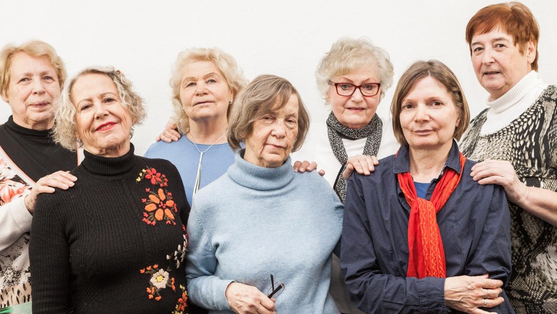 Das Team des Berliner Seniorentelefons