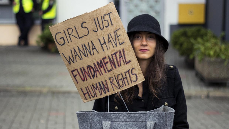 Schon 2016 hatte es Versuche gegeben, die reproduktiven Rechte von Frauen in Polen einzuschränken. Dies konnte damals durch Proteste der Zivilgesellschaft verhindert werden. Foto: Iga Lubczańska (CC BY 2.0)