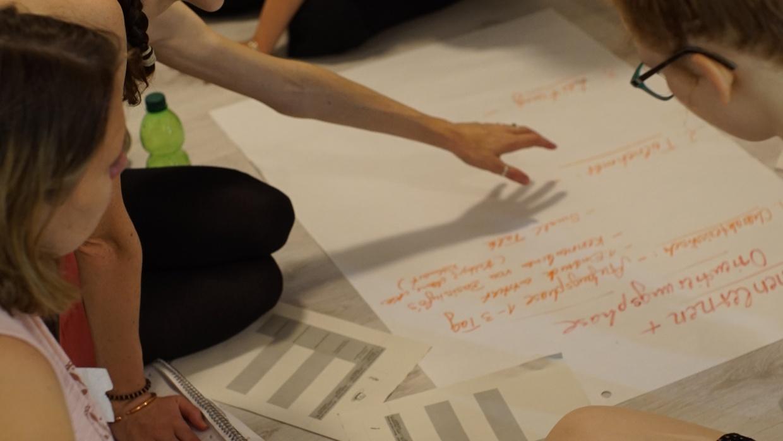 Ideen sammeln im Team