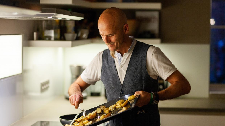 Unser Schirmherr Ralf Zacherl versorgt uns mit kulinarischen Köstlichkeiten