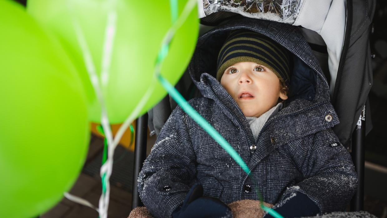 Pandemiebedingt musste der Tag der Kinderhospizarbeit in kleiner Runde gefeiert werden.