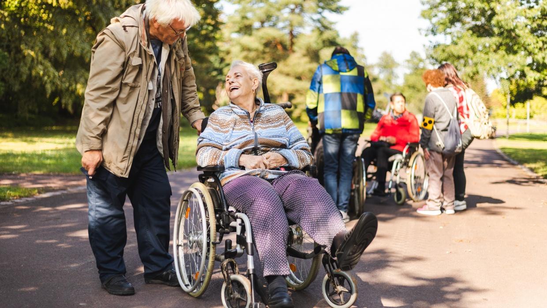 unterwegs mit dem Mobilitätshilfedienst Mitte